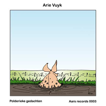 CD-cover Arie Vuyk