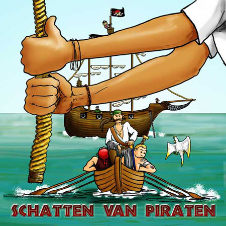 CD-cover Schatten van Piraten, Hans van Woerkom
